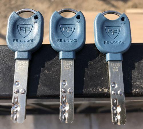 Biztonsági zárbetéthez tartozó kulcs